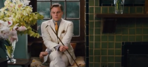 Jay for Brooks Brothers in white suit for The Great Gatsby 2013 - fashion in film.PNG